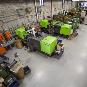 Line-up of moulding machine